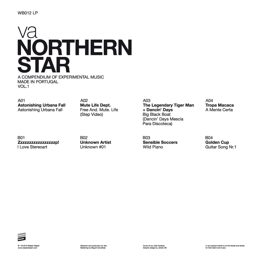V/A - Northern Star: A Compendium Of Experimental Music Made In Portugal  Vol 1- LP